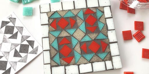 November Mosaic Special -Trivet