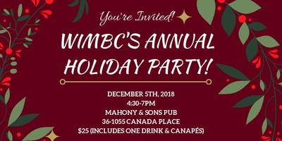 Women in Mining BC (WIMBC) Annual Holiday Party