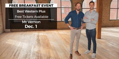 (Free) Millionaire Wealth Real Estate Event in Mount Vernon by HGTV\