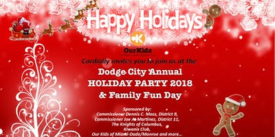 Dodge City Annual Holiday Party & Family Fun Day
