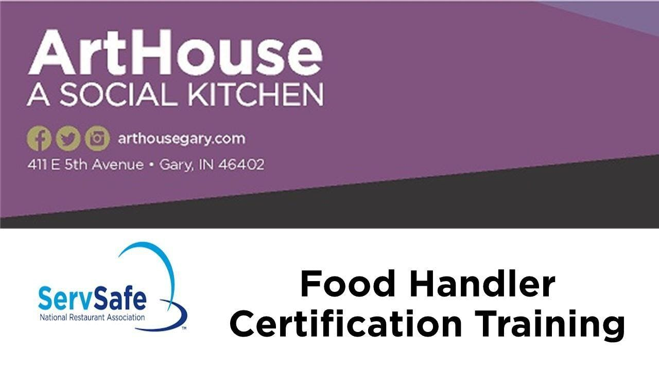 Servsafe Food Handler Manager Certification Class 20 Nov 2018