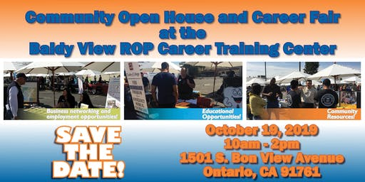 2019 Baldy View ROP Community Open House & Career Fair