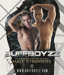 BuffBoyzz Gay Friendly Male Strippers & Male Strip Club Shows  logo