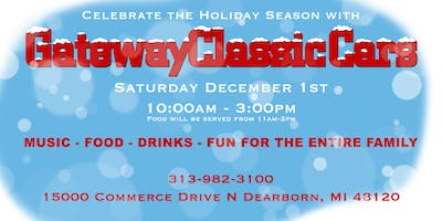 Gateway Classic Cars Holiday Party!