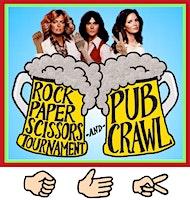 Rock Paper Scissors Tournament & Pub Crawl! Wednesday! SF