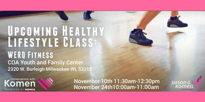 Moving With Komen:WERQ