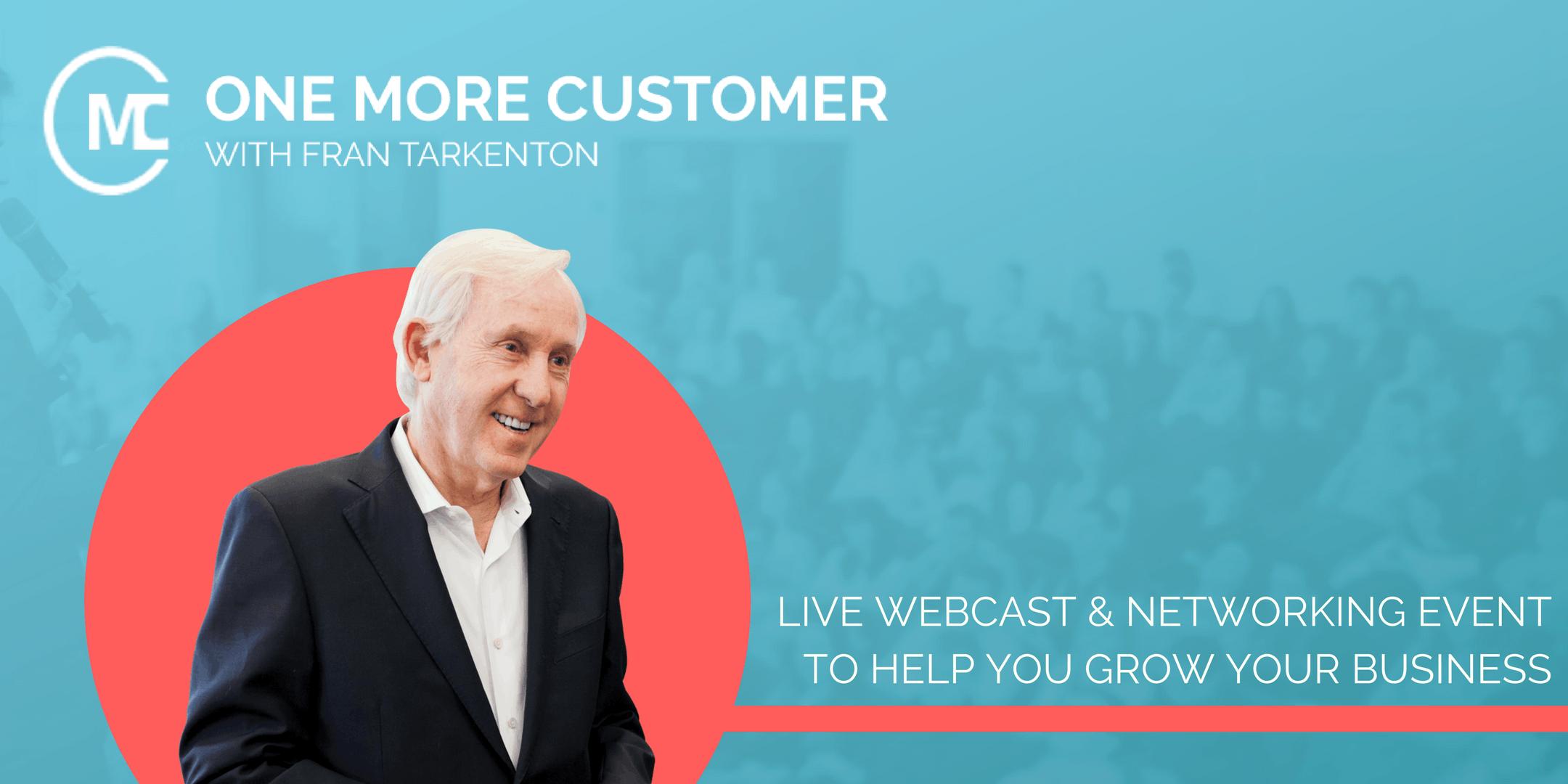 One More Customer - Free Coaching & Networkin