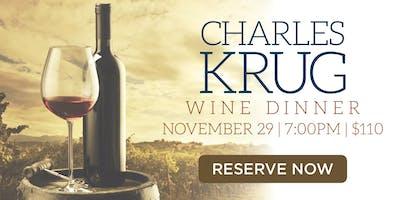 Chart House Charles Krug Wine Dinner - Redondo Beach, CA