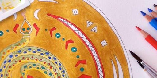 Workshops Mandala-Malen & Meditation: Entdecke die Heilkraft der Mandalas!