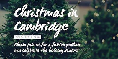 Christmas Potluck in Cambridge
