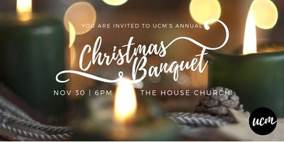 UCM Christmas Banquet 2018