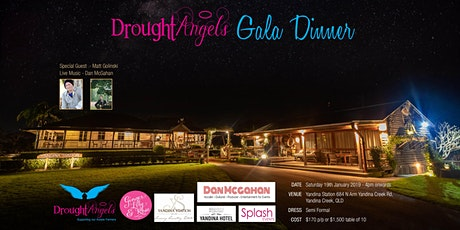 Drought Angels Gala Dinner tickets