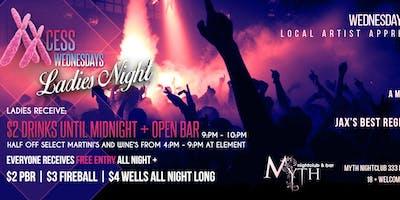 XXCess Wednesdays (Ladies Night) At Myth Nightclub