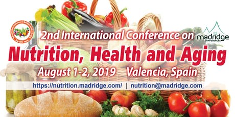 2nd International Conference on Nutrition, Health and Aging entradas