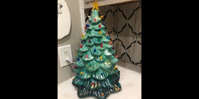 Ceramic Christmas Tree Party at 10 Catawba