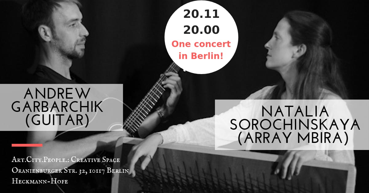 Live music / N. Sorochinskaya & A. Garbarchik