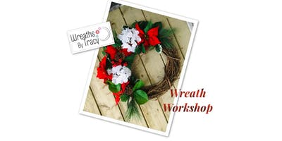Make A Wreath With Wreaths By Tracy -Workshop Holiday Edition #2
