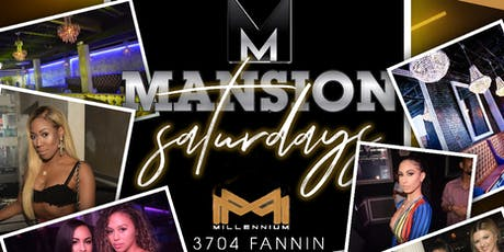 MANSION Saturdays of Houston - 3704 Fannin tickets