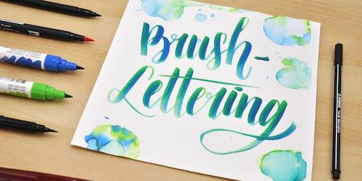 Brush Lettering und wie es funktioniert!