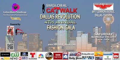 SMGlobal Catwalk - DALLAS 4th Annual Fashion GALA - 11.9.19