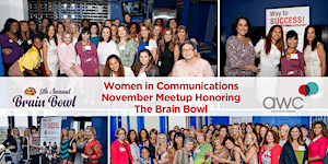 Women in Communications November MeetUp Honoring The Br...