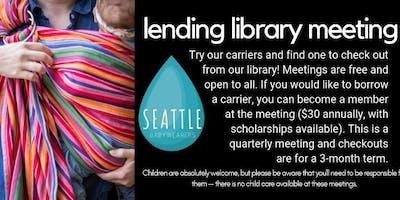 January Lending Library Meeting
