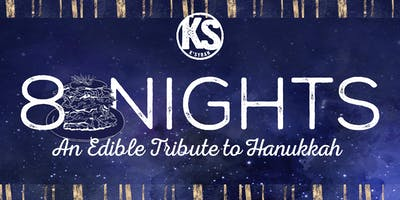 8 Nights {an Edible Tribute to Hanukkah}