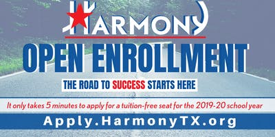 2019-20 6th-12th Grade Open Enrollment at Harmony School of Business