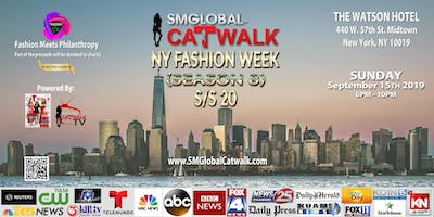 SMGlobal Catwalk - NY FASHION WEEK S/S20 (Season 8) 9.15.19