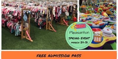 FREE Admission Pass Tri-Valley Children/Maternity Spring 2019 Sales Event (JBF)