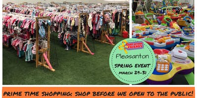 PRIME TIME SHOPPING (3/29 @ 10am, shop before we open to the public) Tri-Valley Children/Maternity Spring 2019 Sales Event (JBF)
