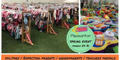 Expecting Parent/Military & Teacher Presale Pass (shop 3/29 @ 12pm) Tri-Valley Children/Maternity Spring 2019 Sales Event (JBF)