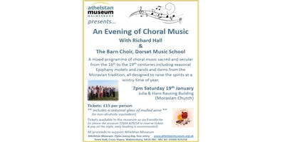An Evening of Choral Music (with a glass of mulled wine)