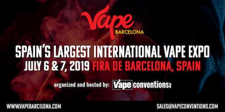 Vape Barcelona Expo 2019 entradas