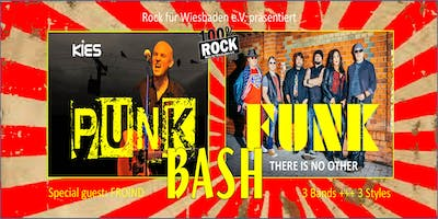 PUNK FUNK BASH +++ 3 Bands +++ 3 Styles - KIES (Tribute to Punk'n'Rock), THERE IS NO OTHER (Mother's Finest Tribute) und FROIND