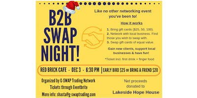 Holiday B2B Swap Night!