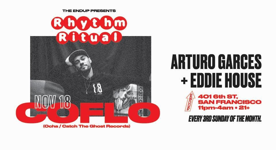 Sunday Night: Rhythm Ritual w/ Coflo, Arturo
