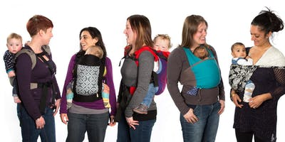 Baby or Child Sling/Carrier drop in; help, advice, fitting, hire
