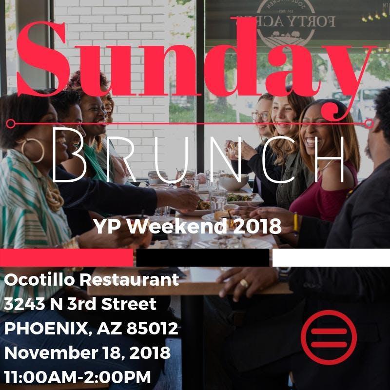 YP Weekend 2018: Sunday Brunch