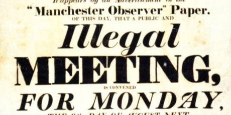 """Official """"Peterloo Massacre at 200"""" Guided Tour tickets"""