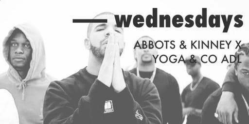 Wednesdays | yoga + sweet tunes