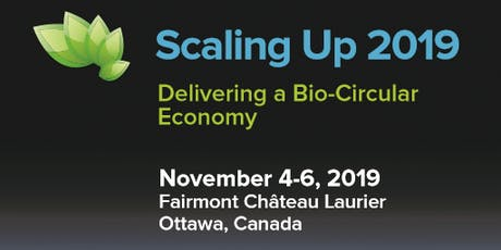 Scaling Up 2019 Bioeconomy Conference tickets