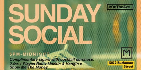SUNDAY SOCIAL tickets