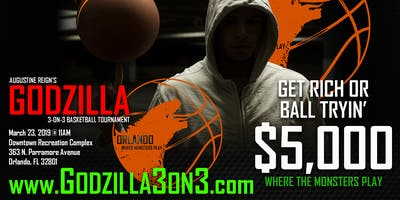 GODZILLA 3-ON-3 BASKETBALL TOURNAMENT (ARG)