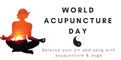 WORLD ACUPUNCTURE DAY! Balance your yin and yang with acupuncture & yoga