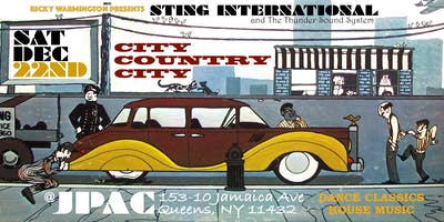 STING INTERNATIONAL *CITY, COUNTRY, CITY* DANCE CLASSICS / HOUSE MUSIC