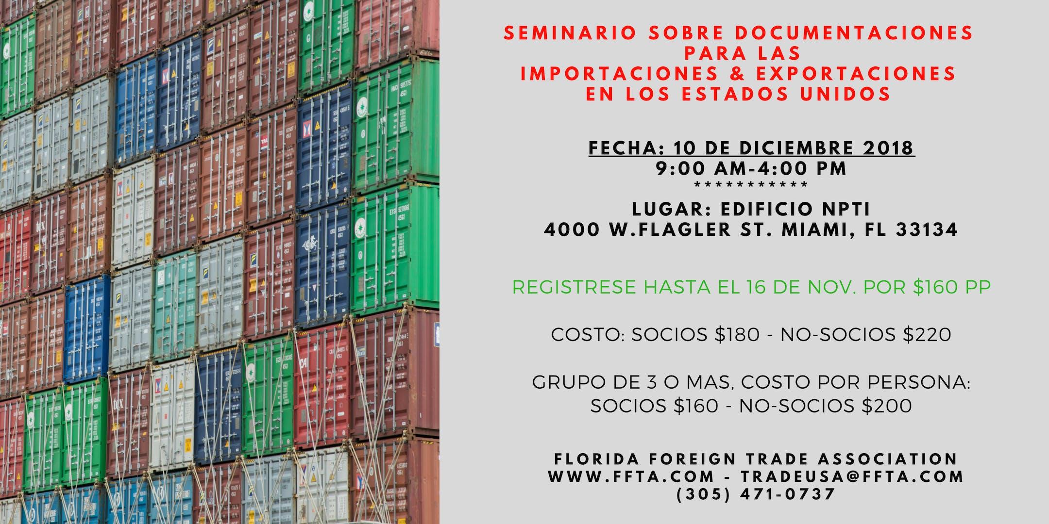 Seminario en Diciembre 10 sobre Documentacion