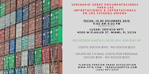 Seminario en Diciembre 10 sobre Documentaciones para...