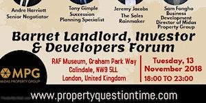 Barnet Landlord, Investor & Developers Forum