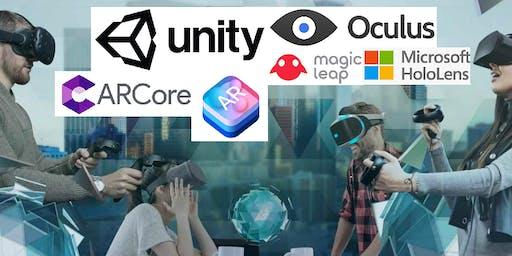 免费!!增强现实和虚拟现实演示魔术跳跃,奥克勒斯微软全息透镜,苹果Arkit和谷歌Arcore